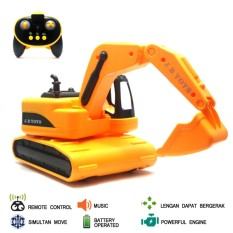 Mainan Mobil Remote Control RC Modern Excavator
