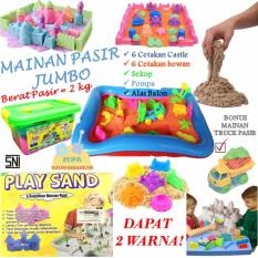 Mainan Pasir Ajaib Kinetik Model Sand Play Sand Paket Jumbo 2 kg