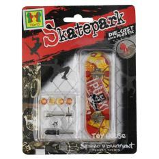 Mainan Skateboard Finger Board Skatepark Isi 1 Pcs/ Diecast Skateboard