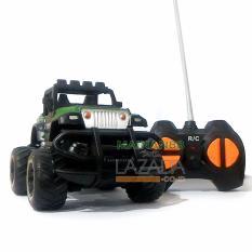 MAINAN88 RC Mobil Jeep Military Bigfoot Mini Car  Mainan Edukasi Anak Remote Control
