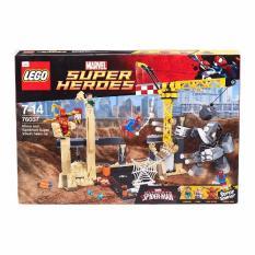 Marvel Spider-Man Rhino and Sandman Super Villain Team