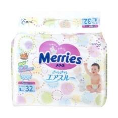 Merries Tape Popok Bayi [L/32 Pcs]