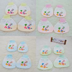 MESH Sarung Tangan Kaki Bayi Random Brand Cheap Quality Murah - 1 set ( 1 pasang sarung kaki + 1 pasang sarung tangan)