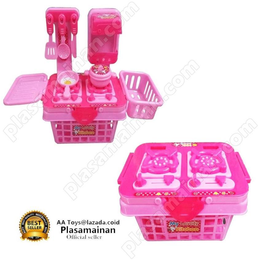 Harga Jual Momo Toys My Lovely Kitchen Set 901k Pink Mainan Masak