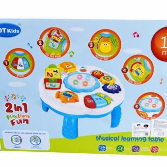 Musical Learning Table Seahorse Mainan Bayi Dan Anak - HIjau 1082 - 5 .