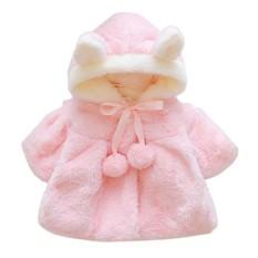 Musim Gugur Musim Dingin Bayi Putri Girl Menebal Bayi Pakaian Mantel-Intl