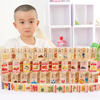 Price Checker MWZ matematika hewan domino domino blok bangunan kayu Periksa Peringkat