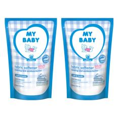 My Baby Fabric Plus Ironing Aid  Soft & Gentle Softener [700mL/2pcs]