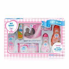My Baby Gift Box Perawatan Kulit Bayi - Pink [600 g]