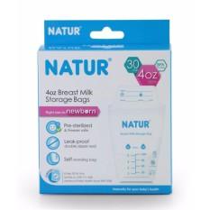 Natur plastik asi 120 ml - Kantong asi - asip - kantung asi bayi - 1 buah