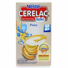 Nestle Cerelac Bubur Sereal Dengan Susu Usia 6-24 Bulan - Pisang - 120gr