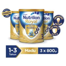 Nutrilon Royal Acti Duobio 3Madu - 800gr Bundle 3 kaleng