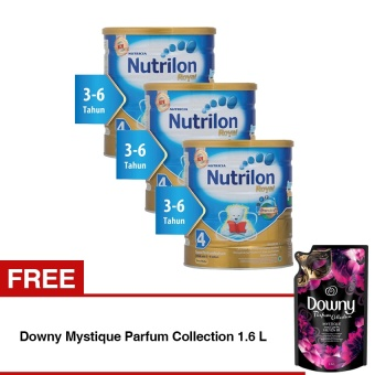 Harga Nutrilon Royal Pronutra 4 Susu Pertumbuhan - Madu - 800gr Bundle 3 kaleng + Free Downy Mystique Parfum Collection 1.6 L
