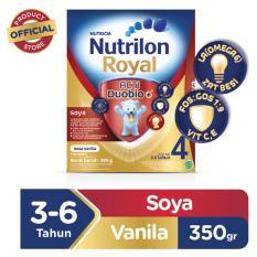 Nutrilon Royal Soya 4 Pronutra Susu Pertumbuhan -  Vanilla - 350gr