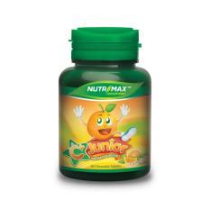 Nutrimax C+ Junior 60's - C Plus, Vitamin C Anak, Meningkatkan Imun Anak, Kalsium Anak, Mencegah Flu