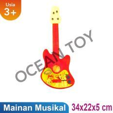 Ocean Toy Gitar Kecil Orange Mainan Edukasi Anak (OCT269)