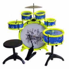 Onlan Drum Big Band Anak Drummer Mainan Drum Anak - Multicolor