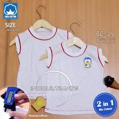 PAKAIAN Bayi 2 in 1 Kaos Bayi 100% cotton Lembut Dingin / Baju Bayi / jumper / bodysuits BC-09 RANDOM
