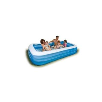 Intex Kolam Renang Anak Crystal Blue Pool 3 Ring For Baby P1 [114cm x 25cm