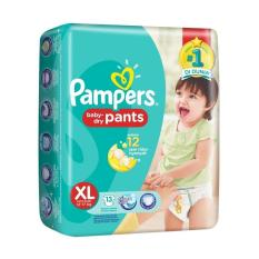 Pampers Baby Dry Pants XL13 Popok Bayi