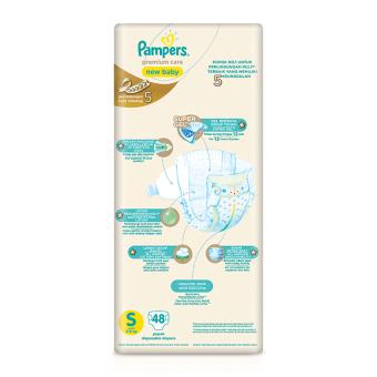 Pampers Popok Perekat S-48 Premium Care