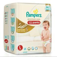Pampers Premium Active Baby Pants L-62
