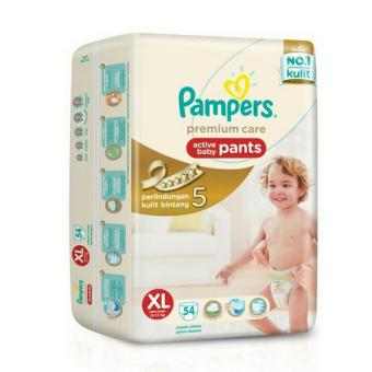 Pampers Premium Active Baby Pants XL-54