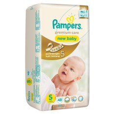 Pampers Premium Care Active Baby Taped - S 48