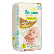 Pampers Premium Care New Baby Tape S-48