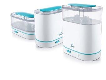 Philips Avent - 3 in 1 Alat Steril Susu / Electric Steam Sterilizer