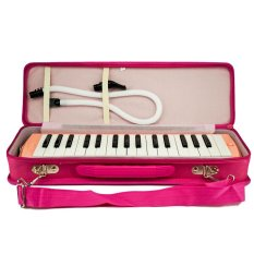 Pianika Hard Cover Pink / Pianika Marvel Koper Pink