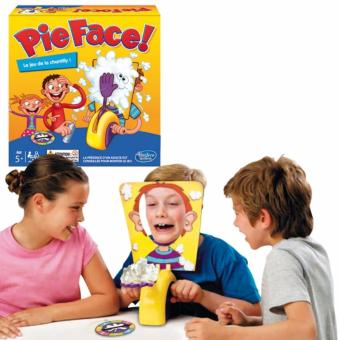 ... Pie Face Cream Running Man Games Lucky Cake Party Trick Game Mainan Anak Lempar Kue Ke ...