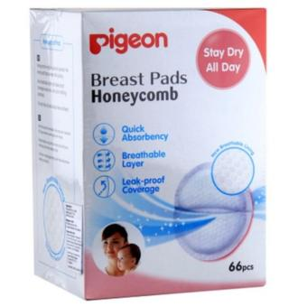 Pigeon Breast Pad Honey Comb 66 pcs