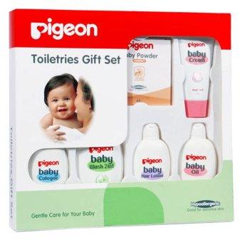 Pigeon Toiletries Gift Set - Paket Perawatan Kulit Bayi