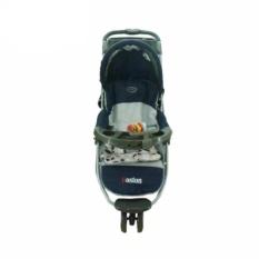 Pliko Boston PK-338 - Baby Stroller / Kereta Dorong Bayi 3 in 1 - Biru Navy