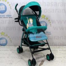 Pliko Buggy Winner PK-106 - Buggy Baby Stroller / Kereta Dorong Bayi - Hijau