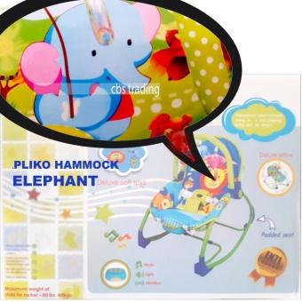 Pliko NEW PK-308B ELEPHANT Bouncer 3-Phase Rocking Chair Hammock - Kursi Ayunan