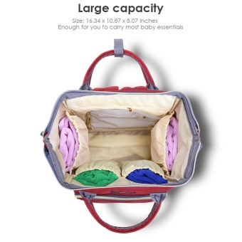Portable Baby Diaper Bag for Travel - intl - 5