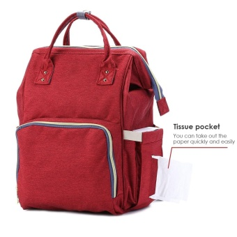 Portable Baby Diaper Bag for Travel - intl - 4
