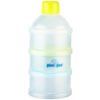 Pumpee 3 Layers Milk container Green