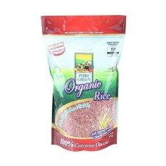 Pure Green Organic Rice Beras Merah - 1 Kg