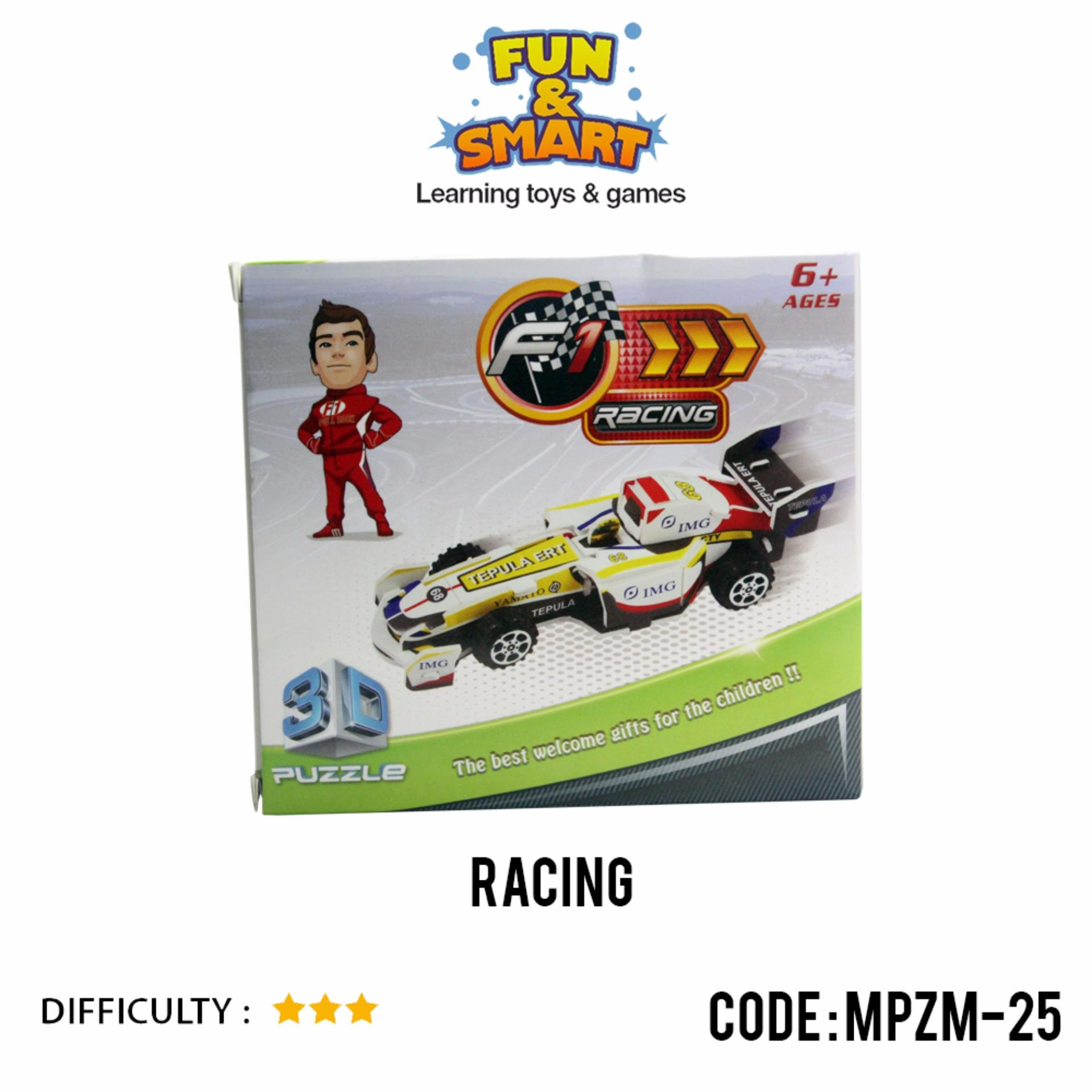 ... Puzzle Super 3D Racing - Mainan Edukatif - MPZM 25 ...