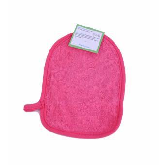QuincyBaby Washlap BathMittt Baby Model Tangan S165 Paus - Pink - 2