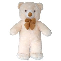 Raja Boneka Boneka Teddy Bear Besar Pita Cream