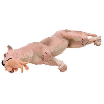 thumbs Realistis Singa Betina Dengan Anaknya Binatang Buas Model Hadiah Mainan Tokoh Aksi .