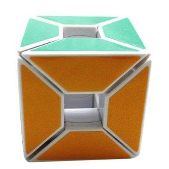 Gambar Rubik Jocubes Void Cube Edge Only Putih
