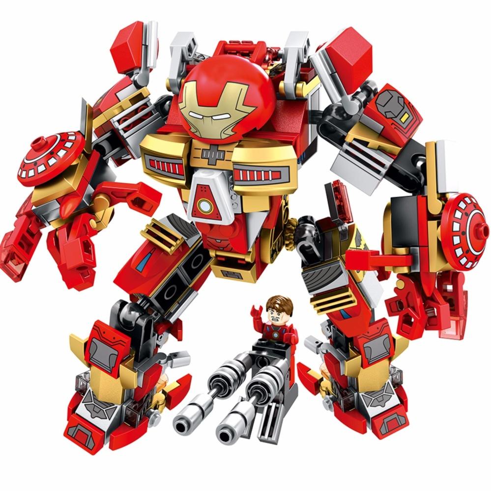 ... Sembo Block 60001 339PCS Iron Man Armor warrior soldier figuresbuilding blocks educational toys for children ...