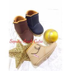 Sepatu boots prewalker baby wang(0-18 BULAN)