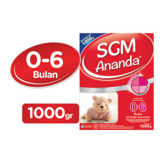 SGM Ananda Presinutri 1 Susu Bayi - 1000gr Box