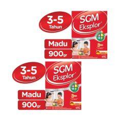 SGM Eksplor Presinutri 3+ Susu Pertumbuhan - Madu - 900gr - Bundle isi 2 Box